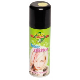 Bombe cheveux 125ml paillettes or
