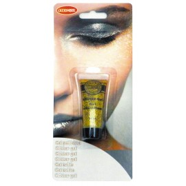 Tube gel paillette 14gr or