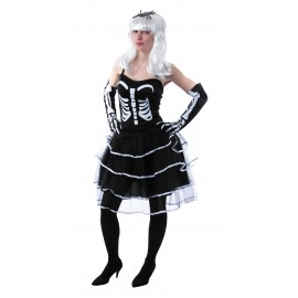 COSTUME PRINCESSE SKELETON