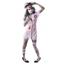 COSTUME INFIRMIERE ZOMBIE
