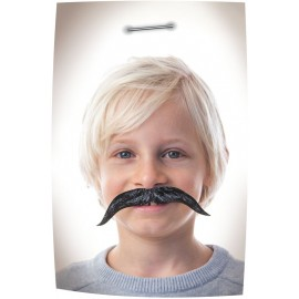 SET DE 4 MOUSTACHES CARTON