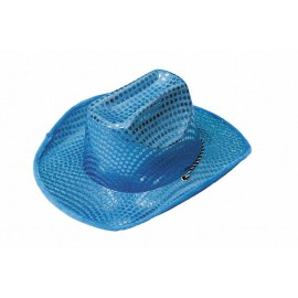Chapeau cowgirl turquoise