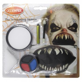 KIT MAQUILLAGE CLOWN DE L'HORREUR