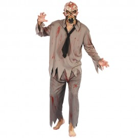 COSTUME ZOMBIE + MASQUE