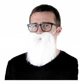 BARBE HIPSTER BLANCHE