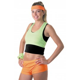 MINI SHORT Fluo Orange