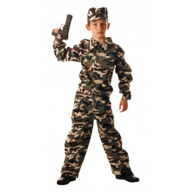 COSTUME MILITAIRE 10-12ANS