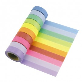 Set de 10 rouleaux de washi tape