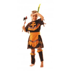 Costume apache fille 4-6ans
