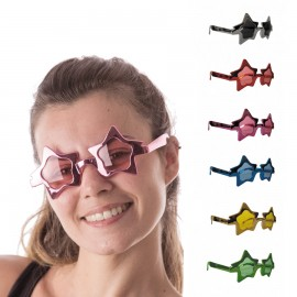 LUNETTES STAR METAL 6 COUL ASS