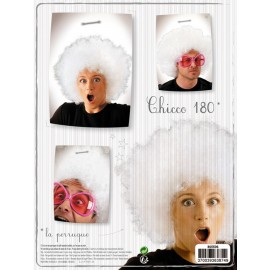 Perruque chicco180 blanche