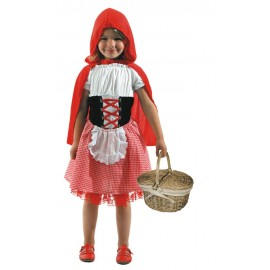 COSTUME CHAPERON ROUGE 4-6ANS