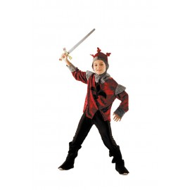 Costume chevalier rouge 4-6ans