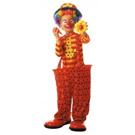 Costume clown cerceau 4-6ans