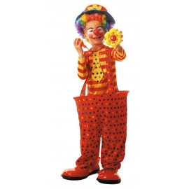 Costume clown cerceau 7-9ans