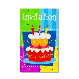 INVITATIONS HB GATEAU X6