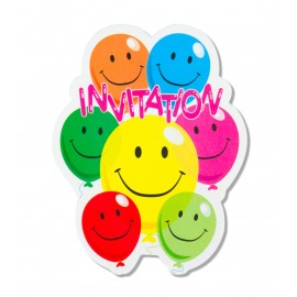 INVITATIONS SMILE  X6