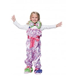 Costume clown luxe 7-9ans