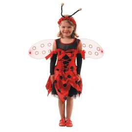 Costume coccinelle 4-6ans