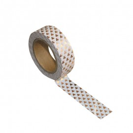 Washi tape gold geometry