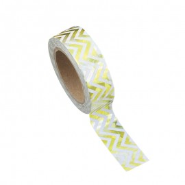 Washi tape chevrons or
