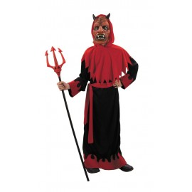Costume diable + masque 4-6ans