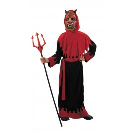 Costume diable + masque 7-9ans