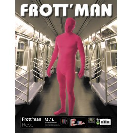 Costume frott'man rose M/L