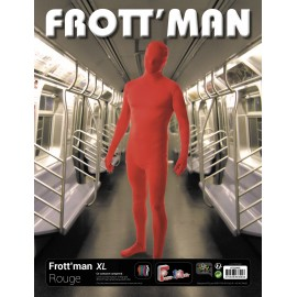 Costume frott'man rouge XL