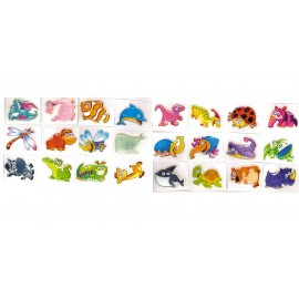 STICKER ANIMAUX 3D
