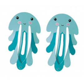 SET DE 2 BARRETTES CUTE OCTOPUS