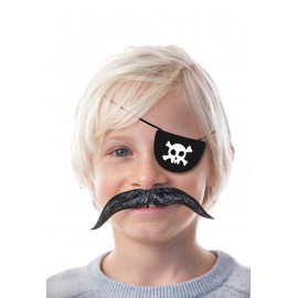 SET DE 4 CACHE-OEILS PIRATE CARTON