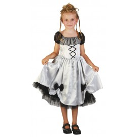 Costume monster bride 4-6 ans