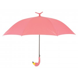 PARAPLUIE FLAMINGO ROSE