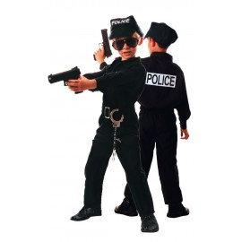 Costume policier 10-12 ans
