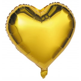 BALLON MYLAR COEUR OR