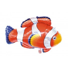 BALLON MYLAR POISSON CLOWN