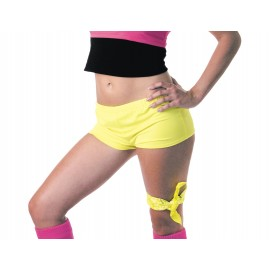 MINI SHORT Fluo Jaune