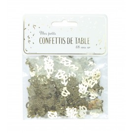 CONFETTIS DE TABLE 18 OR
