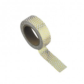 Washi tape dentelle vintage or