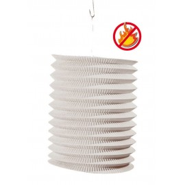 LAMPION CYL BLANC 16 CM.IGN