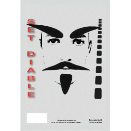 SET MOUSTACHE DIABLE
