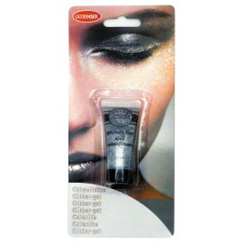 Tube gel paillette 14gr argent