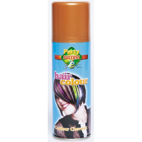 BOMBE CHEVEUX OR