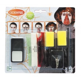 KIT MAQUILLAGE ZOMBIE FERMETURE ECLAIR