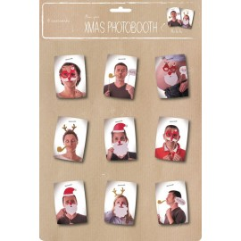 SET XMAS PHOTOBOOTH 8PCS