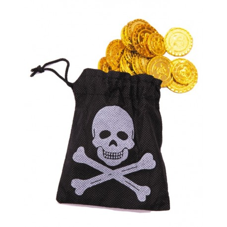 BOURSE PIRATE 50 PIECES OR