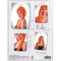 PERRUQUE LOLA ORANGE NEON