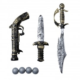 SET 3 ARMES DE PIRATE