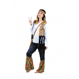 COSTUME HIPPY CHIC FEMME